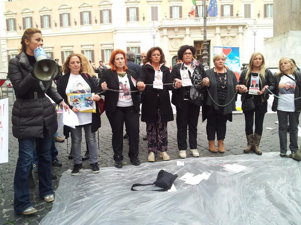 Benedettelli manifestazione Italia Vera