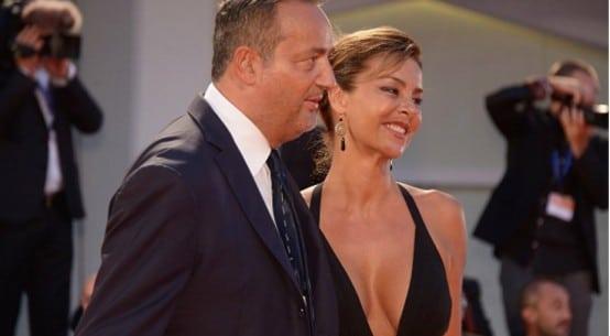 Red Carpet Claudio Brachino e Barbara Benedettelli
