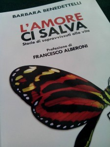 "Barbara Benedettelli "" L'amore ci salva""."