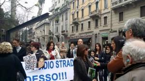Manifestazione per Introduzione reato omicidio stradale