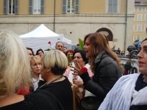 Barbara Benedettelli - Manifestazione #iononcisto